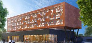 Groupe Cardinal - Réalisation MOB Hôtel à Lyon - B+B Architectes