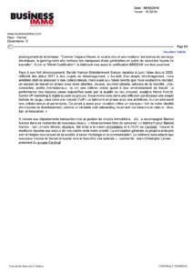 BANDAI - article Business Immo .com du 05.12.2018