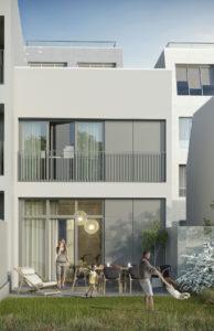 Groupe Cardinal - Bordeaux Saint Genes - @Atelier Architectes King Kong - Perspective Artefacto