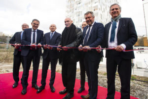 Groupe Cardinal - Ycone - inauguration- Jean Nouvel