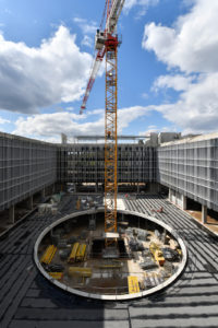 Groupe Cardinal - Akka Rocquencourt - Chantier trou bâtiment©Franck Badaire