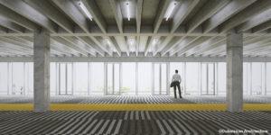 Groupe Cardinal - Akka Rocquencourt - Perspective Bureaux© Dubuisson Architecture
