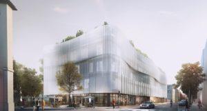 Groupe Cardinal, immeuble de bureaux à Bourg-en-Bresse avec Z Architecture