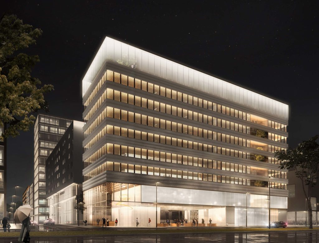 Groupe Cardinal - LUMEN - a+ samuel delmas architecture - Perspective Luxigon