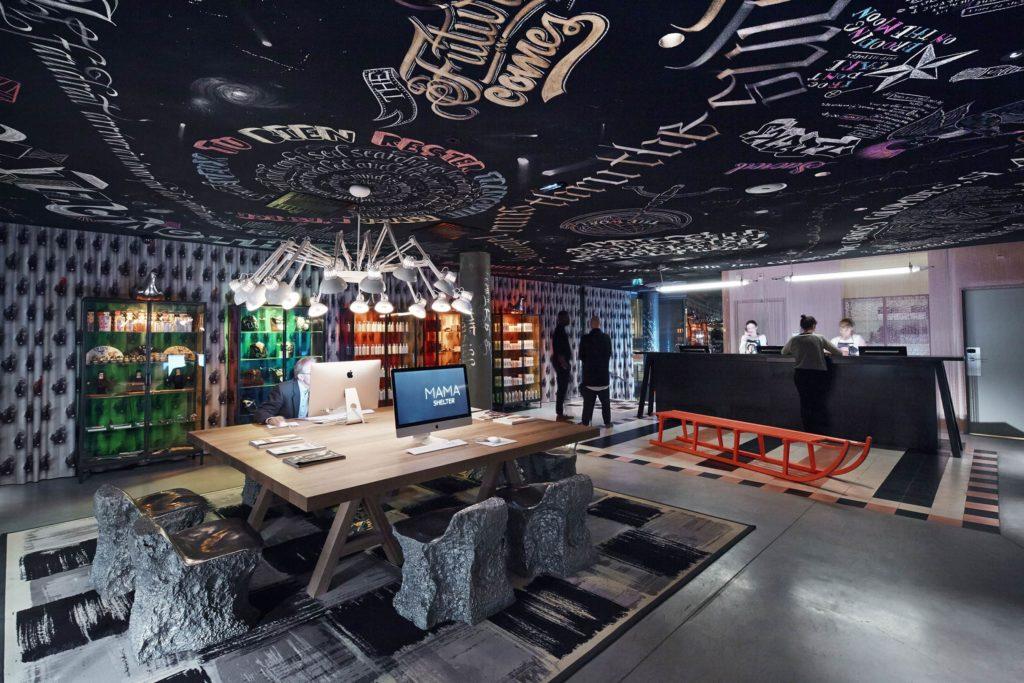 Groupe Cardinal - MAMA SHELTER Lyon - @BBC Architectes - Architecte d'intérieur : @Philippe Starck