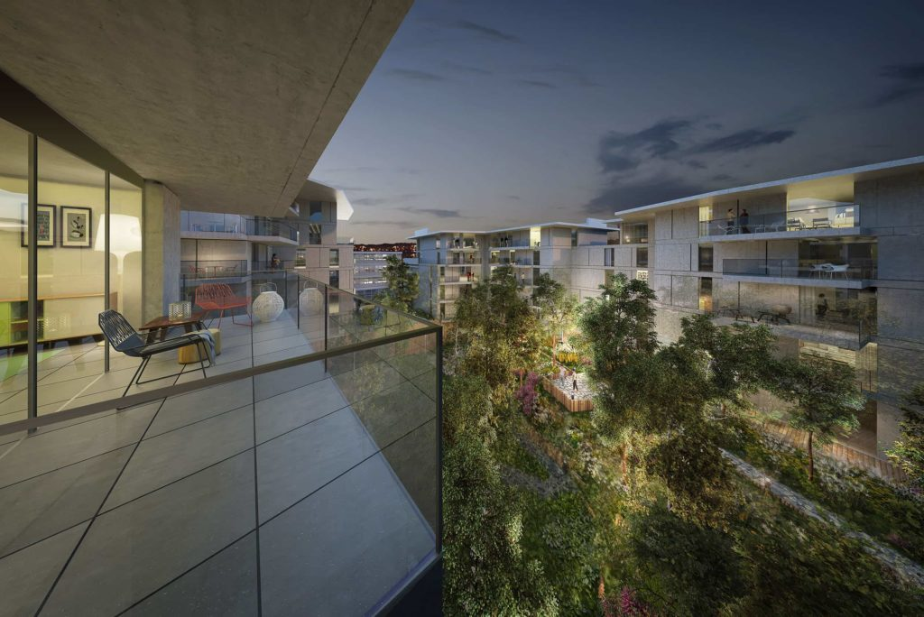 Groupe Cardinal -THE ISLAND - @Jakob+MacFarlane et Portal Teissier Architecture
