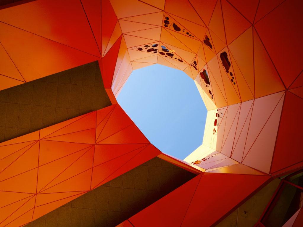 Groupe Cardinal Cube Orange siège - Jakob + MacFarlane