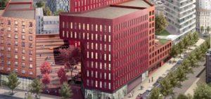Groupe Cardinal - Ilot Poste Weiss - Saint-Etienne- Archi ECDM- Perspective Asylum