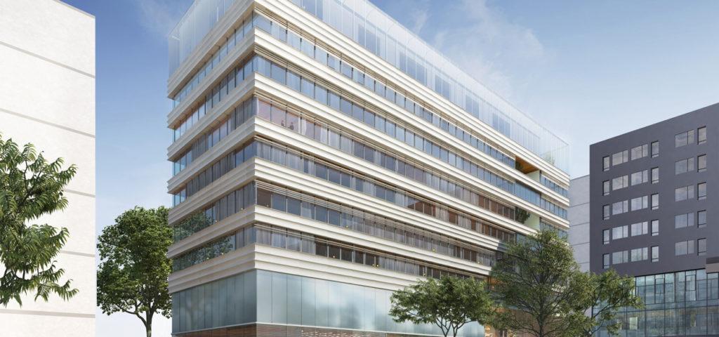 Groupe Cardinal - Lumen - Perspective Karol Borkowsky - a+ samuel delmas architecture