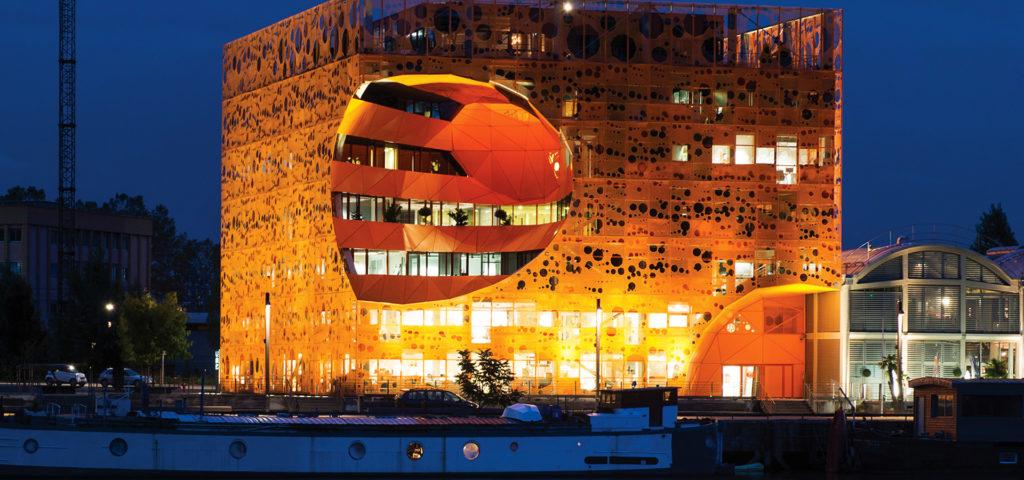 Groupe Cardinal - tertiaire - Le Cube Orange