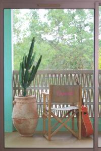 ©Ludovic Maisant - Groupe Cardinal - Casarose - chambre verte terrasse balcon